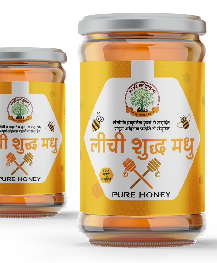 Buy Pure Natural Organic Lichi Honey Online in India